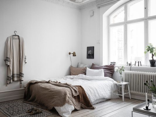 bed-against-wall