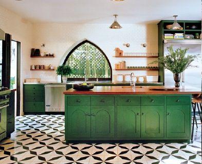 fengshui-kitchen-green
