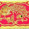 10Crt Gold Thread Silk Embroidered Phoenix Mat3