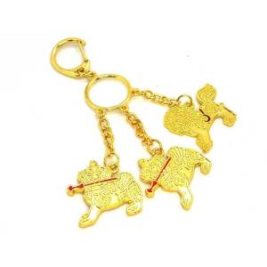 3 Celestial Guardians with Implements Keychain1