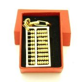 Abacus Golden Key Chain1
