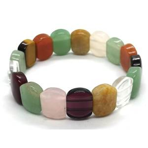 Assorted Crystal Bracelet (Rounded Rectangle)1