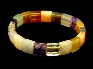 Assorted Square Crystals Bracelet1