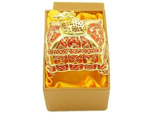 Bejeweled Wish-Fulfilling Jewelry Box With Deer1