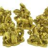 Brass Eight Immortals With Auspicious Animals2