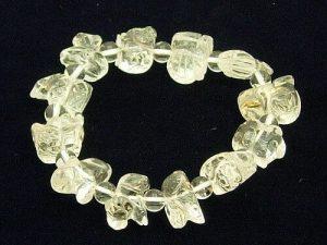 Clear Quartz Twelve Zodiac Animals Bracelet1