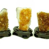 Feng Shui Citrine Plate (4 To 4.5 Inch)1