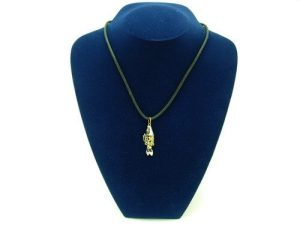 Fish For Abundance Pendant (with chain)1
