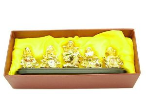 Five Little Wealth Buddhas For Money Luck1