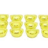 Fortune Bringing Gold Ingots (Set of 3, 6 or 12)1