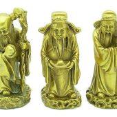 Good Fortune Brass Fuk Luk Sau1