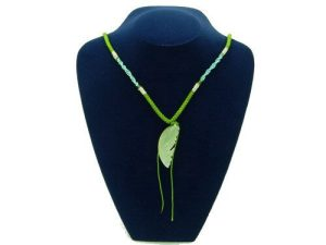Green Jade Fish Pendant with Chain1