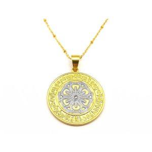 Happiness & Wealth Medallion1
