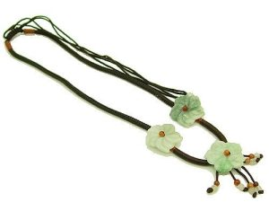 Jade Flowers Of Grace Pendant With Necklace1