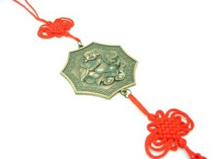 Laughing Buddha Amulet with Dragon for Protection1