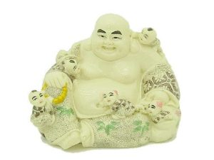 Laughing Buddha With Five Children1