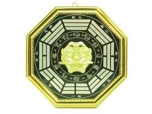 Lion Head With 12 Zodiac Ba Gua (L)1