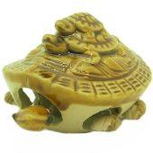 Porcelain Moving Three Tier Tortoise1