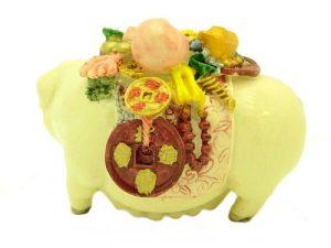 Prosperity Pig Carrying Treasures