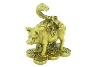 Prosperity Pig With Ruyi1