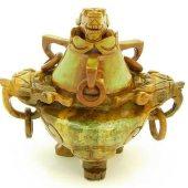 Sau Shan Stone Pi Yao Incense Burner1