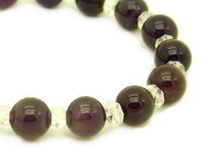 Round Amethyst Bracelet