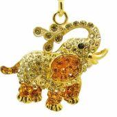 bejeweled_saluting_elephant_keychain_3