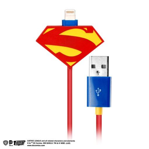DC 特製版正義聯盟 Lightning 傳輸線 (超人) -