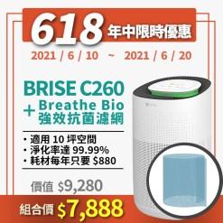 選對空氣清淨機,可以有效減少空氣中病毒數量! - 1.c260bio