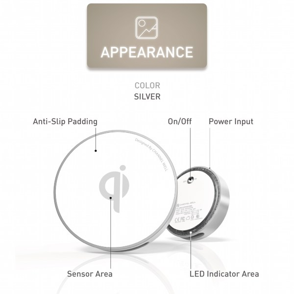 僑威雙USB孔無線充電器 告別桌面雜亂的線材 - 05.Appearance 01