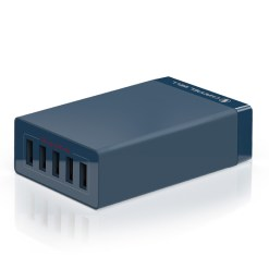 CHANNEL WELL 40W 5 埠 USB 快速充電器 - 5port 01 nvy