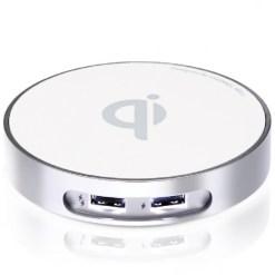 僑威雙USB孔無線充電器 告別桌面雜亂的線材 - G99 WCD020B N001桌上型