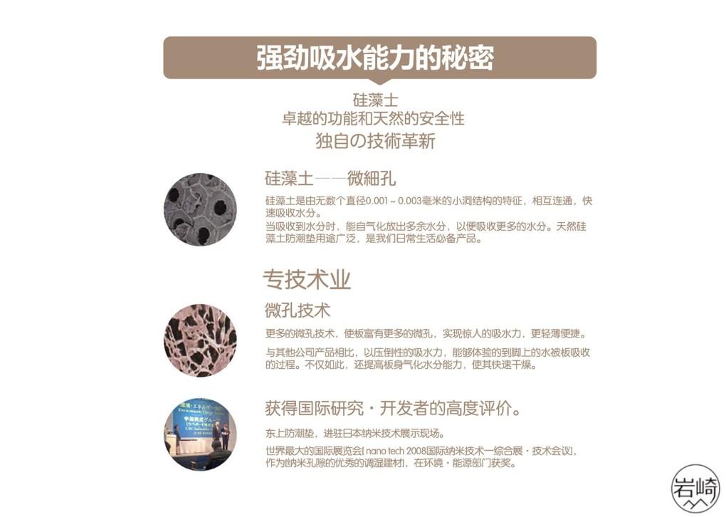 日本岩崎硅藻土地墊 - 超級吸濕抗菌防霉 - 岩崎硅藻土地墊 8