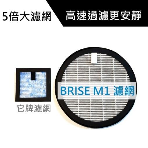 【優惠大全配】BRISE M1 車用空氣清淨機 - birse m1 5X濾網