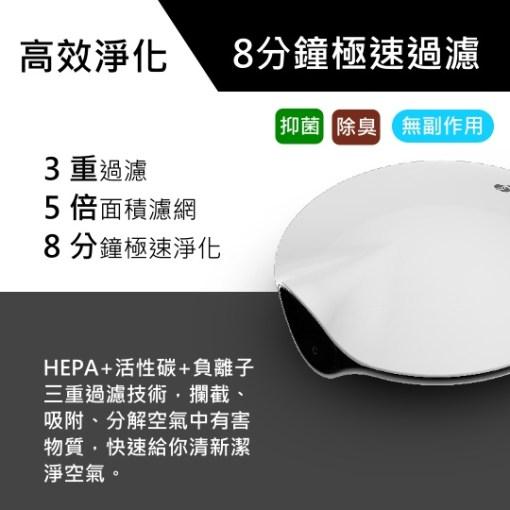 【優惠大全配】BRISE M1 車用空氣清淨機 - brise m1 高效過濾