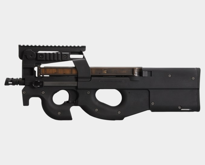 King Arms FN P90 Tactical - Left Side