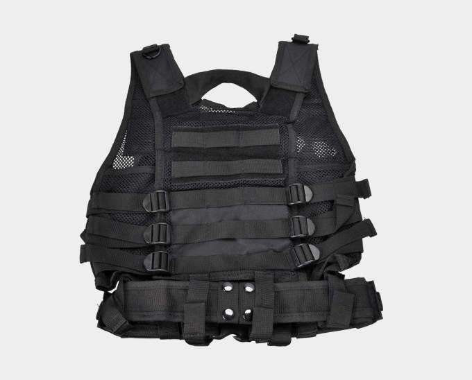 Extra Small Tactical Vest - Black