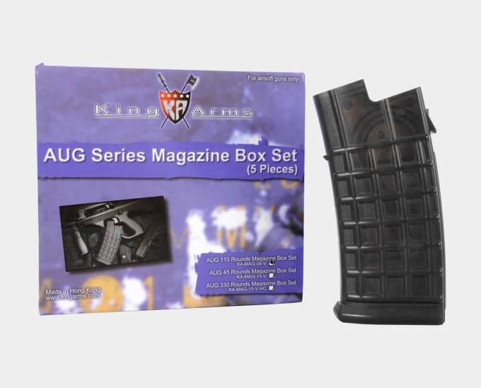 King Arms AUG Mid Cap Mag Box Set