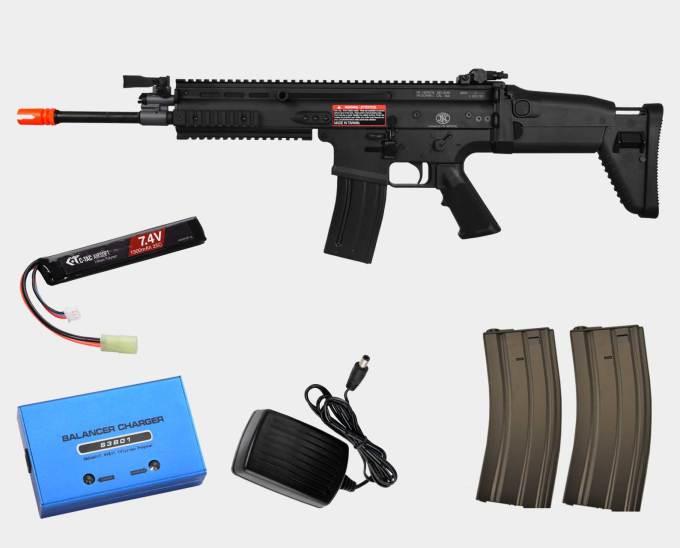 VFC FN SCAR-L Mk16 Black Bundle