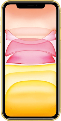 Apple iPhone 11 (64GB Yellow) at £99.00 on Red (24 Month(s) contract) with UNLIMITED mins; UNLIMITED texts; 2000MB of 4G data. £46.00 a month.
