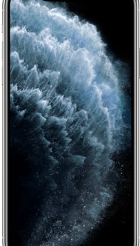Apple iPhone 11 Pro Max (256GB Silver Used Grade A) at £99.00 on Red (24 Month(s) contract) with UNLIMITED mins; UNLIMITED texts; 24000MB of 5G data. £75.00 a month.
