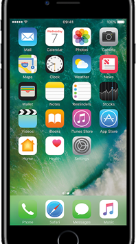 Apple iPhone 7 (32GB Jet Black Used Grade A) at £19.00 on Red (24 Month(s) contract) with UNLIMITED mins; UNLIMITED texts; 6000MB of 5G data. £30.00 a month.