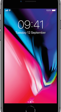 Apple iPhone 8 (64GB Space Grey Used Grade A) at £9.00 on Red with Entertainment (24 Month(s) contract) with UNLIMITED mins; UNLIMITED texts; 24000MB of 5G data. £50.00 a month.