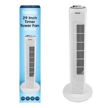 """Benross 29"""" Tower Fan with Timer"""