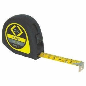 C.K Tools Softech ABS Technicians Measuring Tape - 7.5 Meters/25 Foot