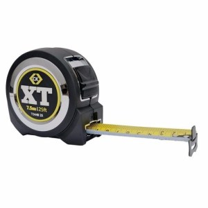 C.K Tools XT Professional Heavy Duty Double Sided Tape Measure - 7.5 metre-27mm blade