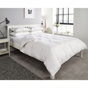 Downland Anti-Allergy 10.5 Tog Goose Feather and Down Single Duvet
