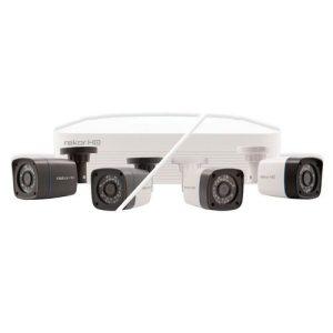 ESP 4 Channel 500GB Rekor HD CCTV Bullet Kit - 2 Camera - White