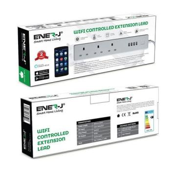 Ener-J Wifi 3G Extension Lead with USB