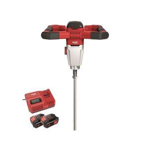 Flex Power Tools MXE 18.0-EC/5.0 SET Cordless Mixer 18V 2 x 5.0Ah Li-ion